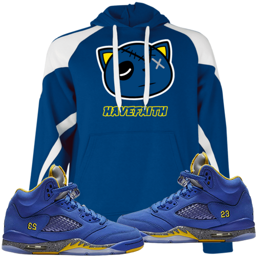 Have Faith (Retro 5 Alternate Laney) Hoodie - HaveFaithClothingCo