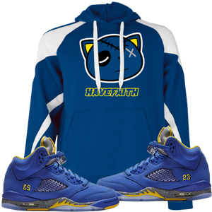 Have Faith (Retro 5 Alternate Laney) Hoodie