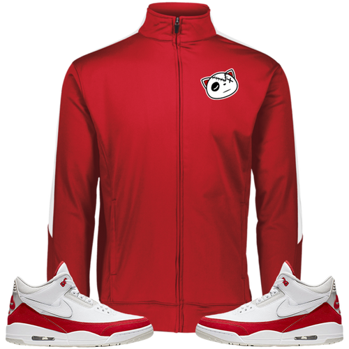 Have Faith (Tinker University Red 3's) Fleece