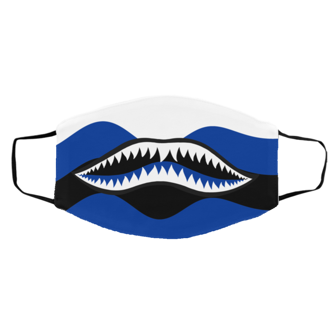 Rawr (Hyper Royal Retro 14's) Face Mask - Shop Men, Women, Kids clothing and accessories To Match Your Kicks online