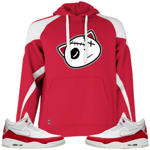 Have Faith (Tinker University Red 3's) Hoodie