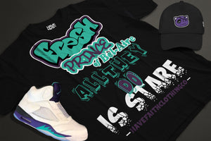 The Fresh Prince (Grape 5's) T-Shirt - Shop Men, Women, Kids clothing and accessories To Match Your Kicks online