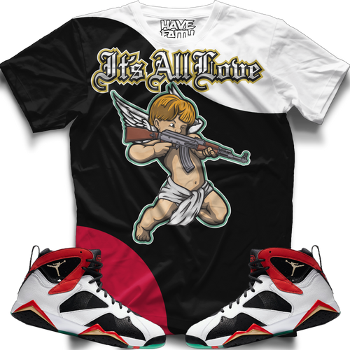 Its All Love (Greater China Retro 7's) T-Shirt