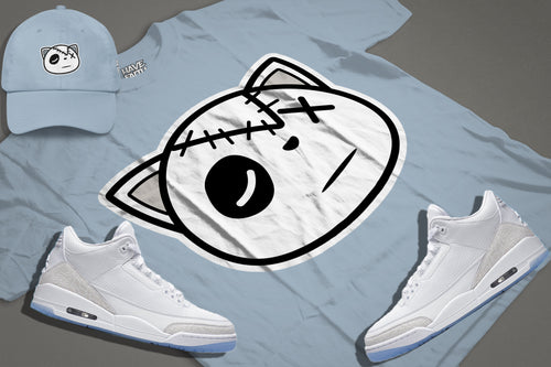 HF Logo (Pure White 3's) T-Shirt - HaveFaithClothingCo