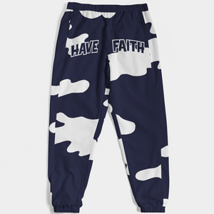 Have Faith Camo (Indigo Stone Blue Retro 12's) Men's Track Pants - Shop Men, Women, Kids clothing and accessories To Match Your Kicks online