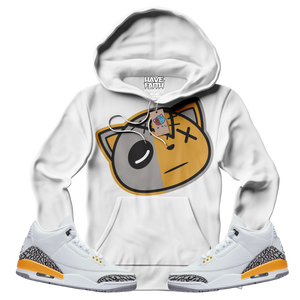 Have Faith (Laser Orange Retro 3's) Hoodie - Shop Men, Women, Kids clothing and accessories To Match Your Kicks online