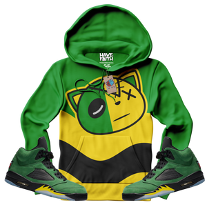 HF Wave (Oregon Elevate Retro 5's) Hoodie - Shop Men, Women, Kids clothing and accessories To Match Your Kicks online