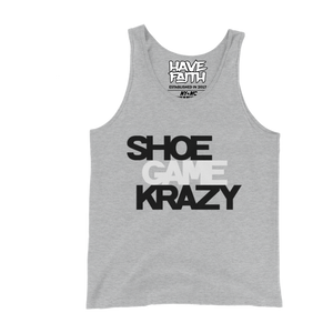 Shoe Game Krazy (Cement 10's) Tank Top - HaveFaithClothingCo
