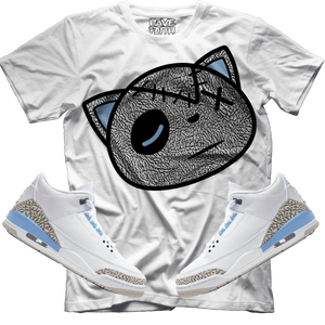Have Faith (UNC Retro 3's) T-Shirt - HaveFaithClothingCo