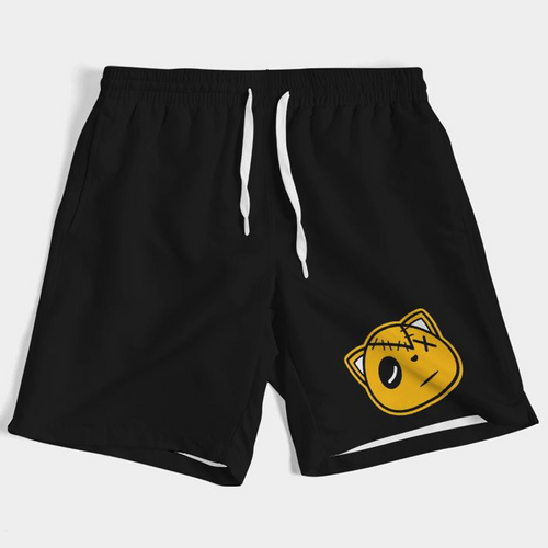 Have Faith (University Gold Retro 12's) Swim Trunks - HaveFaithClothingCo