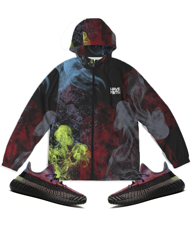 Have Faith (Yeezy Boost Yecheil 350) Windbreaker - HaveFaithClothingCo