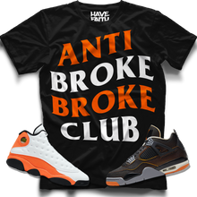 Anti Broke Club (Starfish Retro 13's/14's) T-Shirt - Shop Men, Women, Kids clothing and accessories To Match Your Kicks online