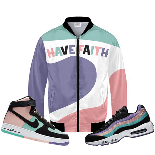 Have Faith (Have A Nike Day Collection) Bomber Jacket - Shop Men, Women, Kids clothing and accessories To Match Your Kicks online