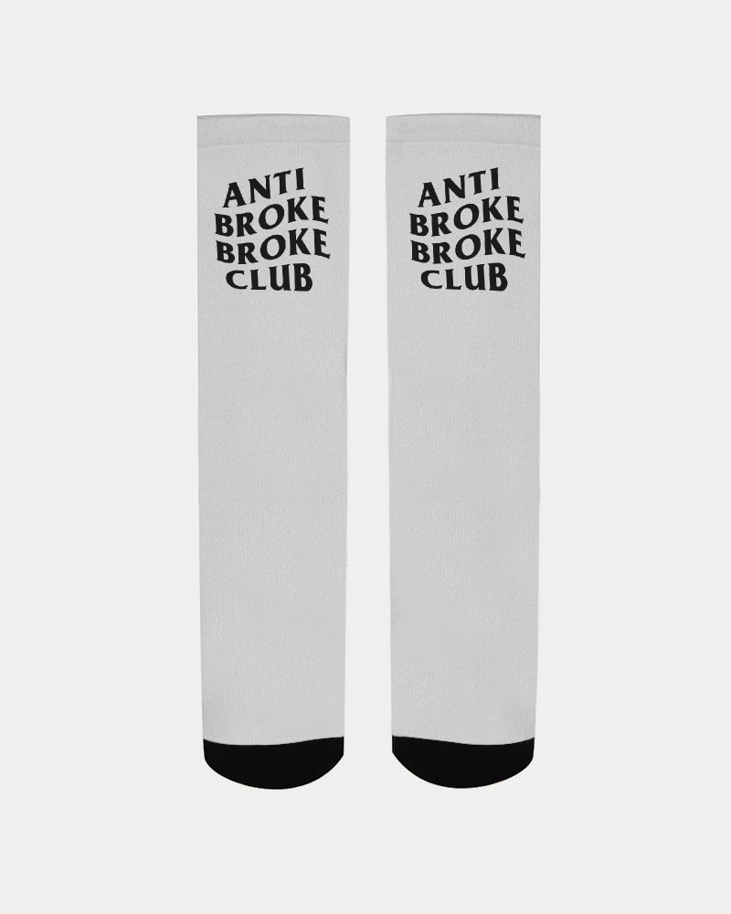 Anti Broke Broke Club Socks - HaveFaithClothingCo