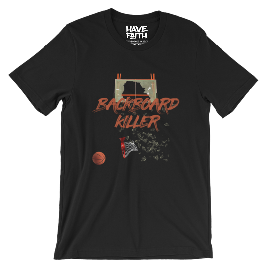 Backboard Killer (Shattered Backboard 1s) T-Shirt - HaveFaithClothingCo
