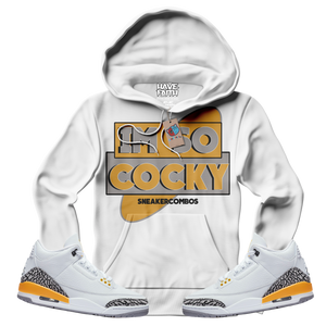 Im So Cocky (Laser Orange Retro 3's) Hoodie - HaveFaithClothingCo