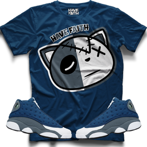 Have Faith (Flint Retro 13's) Kids T-Shirt - Shop Men, Women, Kids clothing and accessories To Match Your Kicks online