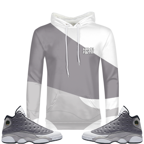 Fate (Atmosphere Grey 13's) Hoodie - HaveFaithClothingCo