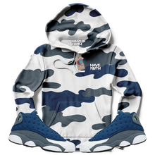 Have Faith Camo (Flint Retro 13's) Hoodie - HaveFaithClothingCo