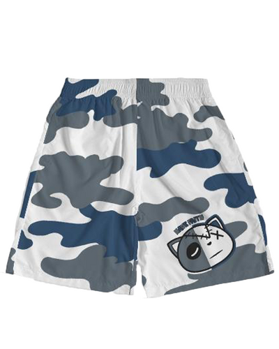 Have Faith Camo (Flint Retro 13's) Jogger Shorts - HaveFaithClothingCo