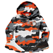 HF Camo (Starfish Retro 13's/4's) Hoodie - Shop Men, Women, Kids clothing and accessories To Match Your Kicks online