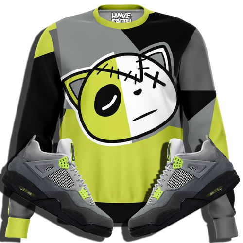 Have Faith (Neon Air Max 95 Retro 4's) Sweatshirt