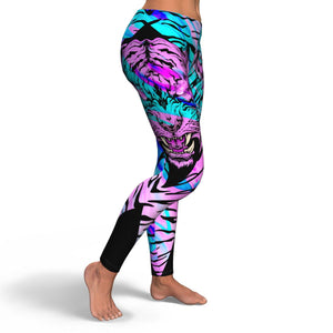 Colorful Tiger Leggings - HaveFaithClothingCo