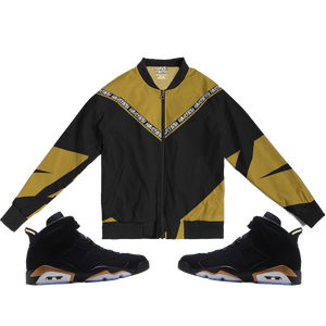 Have Faith striped (DMP Retro 6's) Bomber Jacket - HaveFaithClothingCo