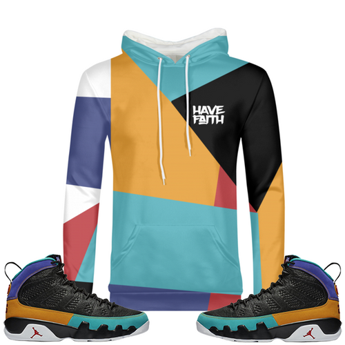 Have Faith (Dream It, Do It 9's) Hoodie - Shop Men, Women, Kids clothing and accessories To Match Your Kicks online