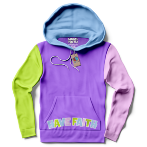 Have Faith (Multi Color) Hoodie - Shop Men, Women, Kids clothing and accessories To Match Your Kicks online
