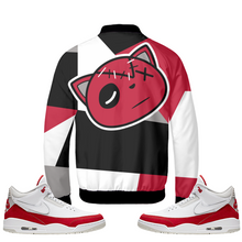 Have Faith (Tinker University Red 3's) Bomber Jacket