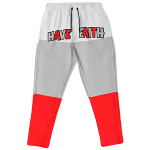 Have Faith (Fire Red 4's) Joggers - Shop Men, Women, Kids clothing and accessories To Match Your Kicks online