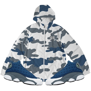 Have Faith (Flint Retro 13's) Windbreaker - Shop Men, Women, Kids clothing and accessories To Match Your Kicks online