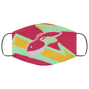 Hare Where? (Hare Retro 6's) Face Mask - HaveFaithClothingCo