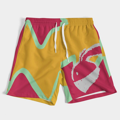 What Hare? (Hare Retro 6's) Men's Swim Trunks - HaveFaithClothingCo