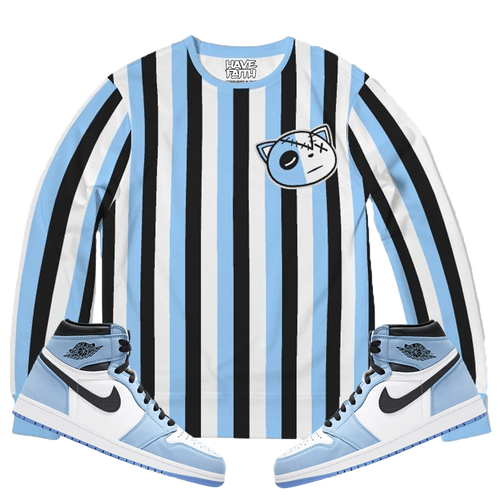 HF lines (Unc Retro 1's) French Terry Crewneck Pullover - Shop Men, Women, Kids clothing and accessories To Match Your Kicks online