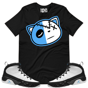 Have Faith (UNC Retro 9's) T-Shirt - Shop Men, Women, Kids clothing and accessories To Match Your Kicks online