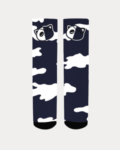 Have Faith Camo (Indigo Stone Blue Retro 12's) Socks - HaveFaithClothingCo