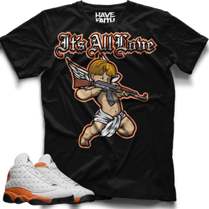 It's All Love (Starfish Retro 13's) T-Shirt - Shop Men, Women, Kids clothing and accessories To Match Your Kicks online