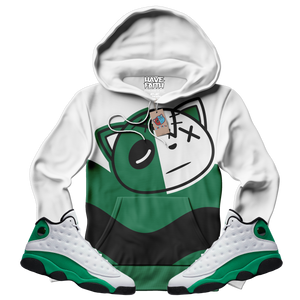 HF Wave (Lucky Green Retro 13's) Hoodie - Shop Men, Women, Kids clothing and accessories To Match Your Kicks online