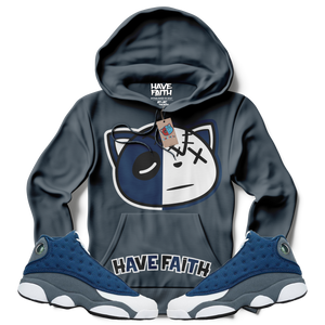 Have Faith (Flint Retro 13's) Hoodie - Shop Men, Women, Kids clothing and accessories To Match Your Kicks online