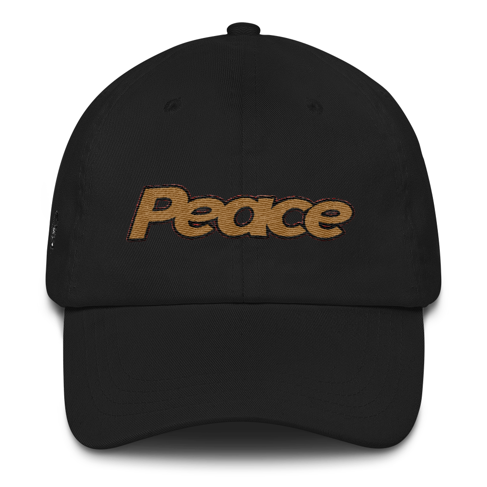 Peace Dad hat - HaveFaithClothingCo