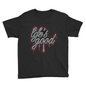 Life Good (Katrina 3s) Youth Short Sleeve T-Shirt - HaveFaithClothingCo