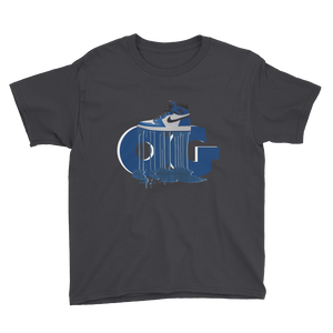 OG DRIP (OG Game Royal 1s) Youth Short Sleeve T-Shirt - HaveFaithClothingCo