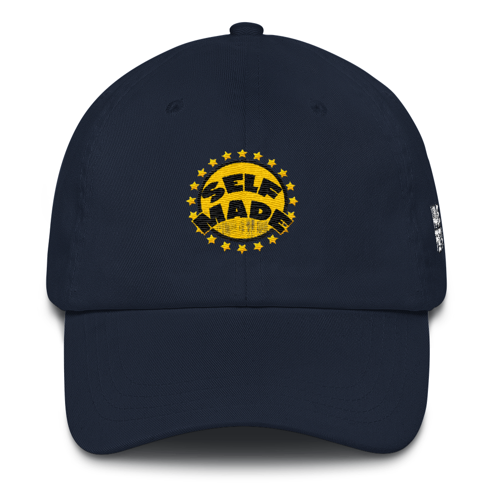 Self Made (Michigan 12's) Dad hat - HaveFaithClothingCo