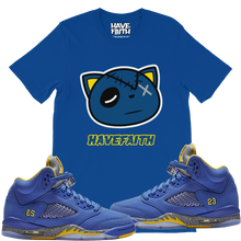 Have Faith (Retro 5 Alternate Laney) T-Shirt - Shop Men, Women, Kids clothing and accessories To Match Your Kicks online