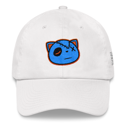 HF Logo (Light Aqua 5's) Dad hat - HaveFaithClothingCo