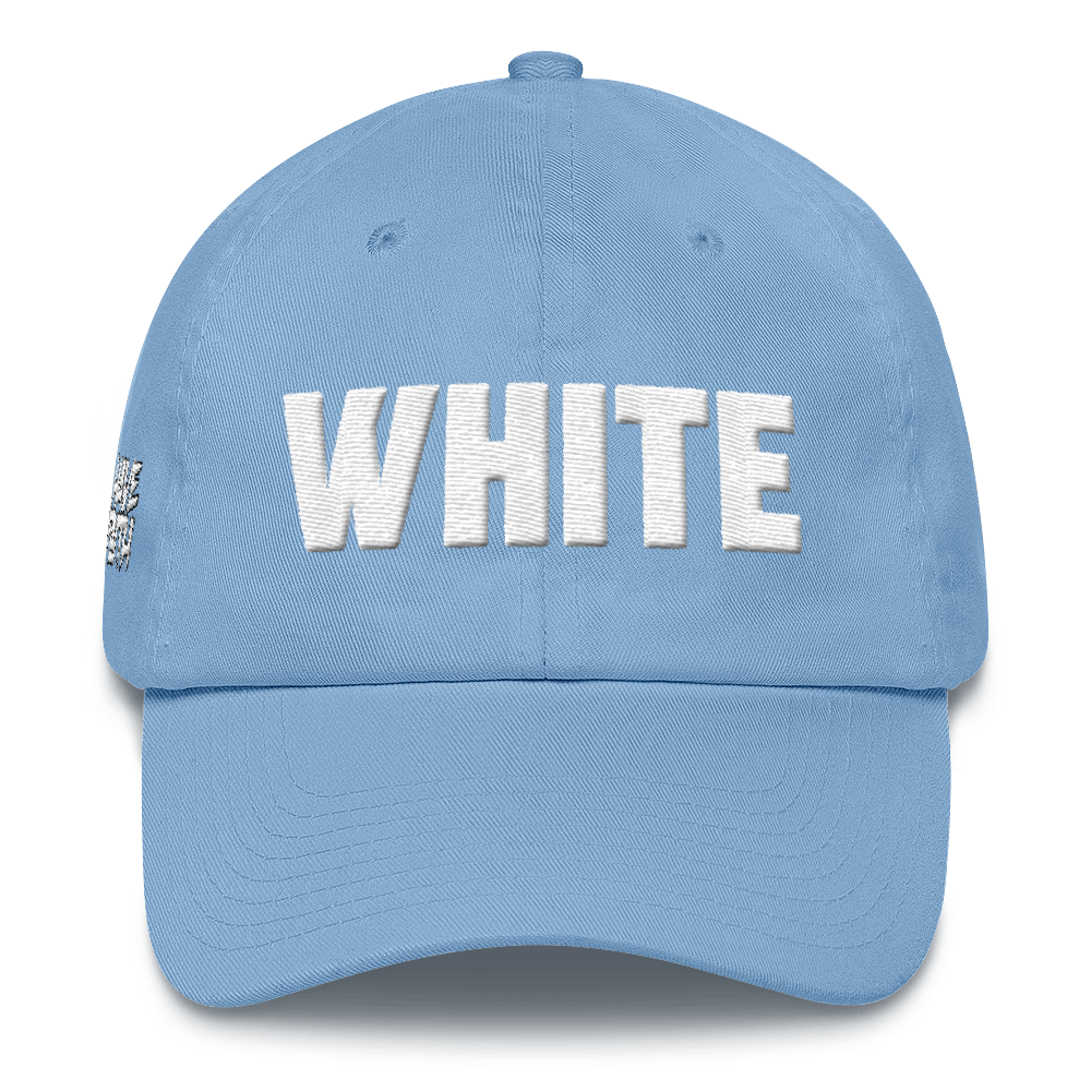 White (Off White UNC 1's) Dad Hat - HaveFaithClothingCo