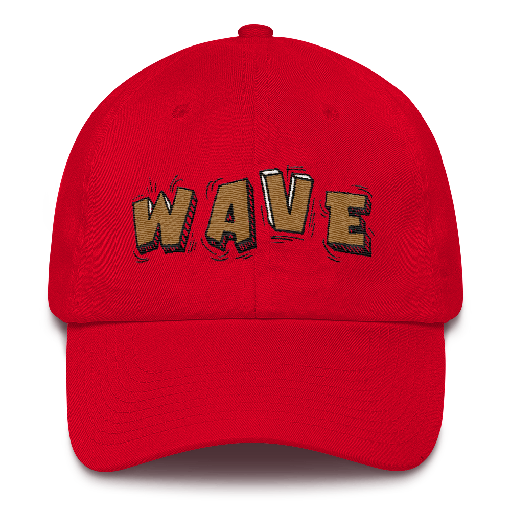 Wave (Retro 4 Singles Day) Dad Hat - Shop Men, Women, Kids clothing and accessories To Match Your Kicks online