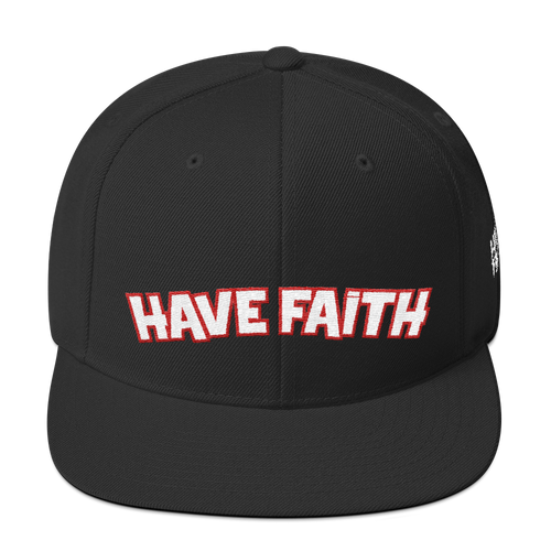 Have Faith (PSG 5's) Snapback - HaveFaithClothingCo